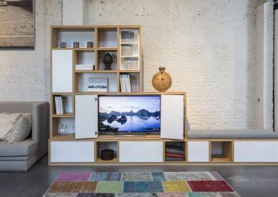 Element TV avec portes
