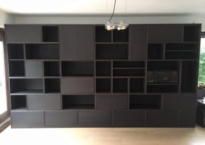 Bookcase Ebony oak